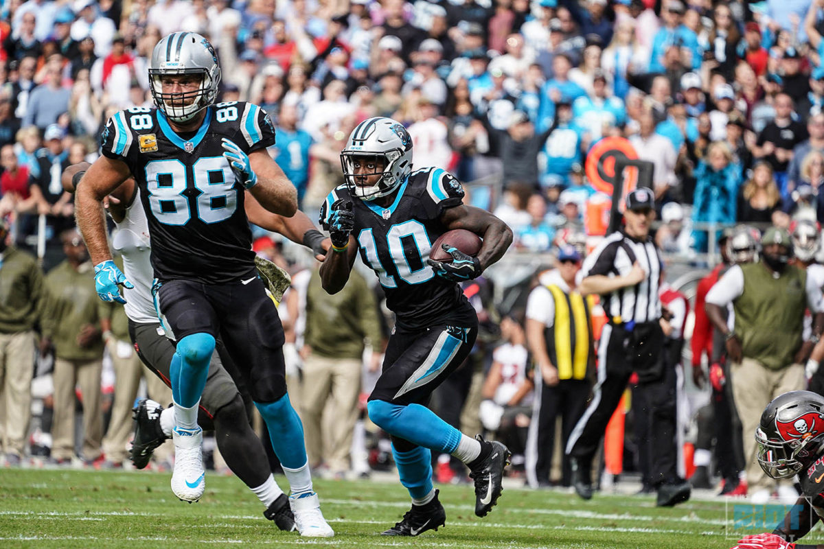 Tale of Two Plays: Curtis Samuel's Reverse and CMC's Leap