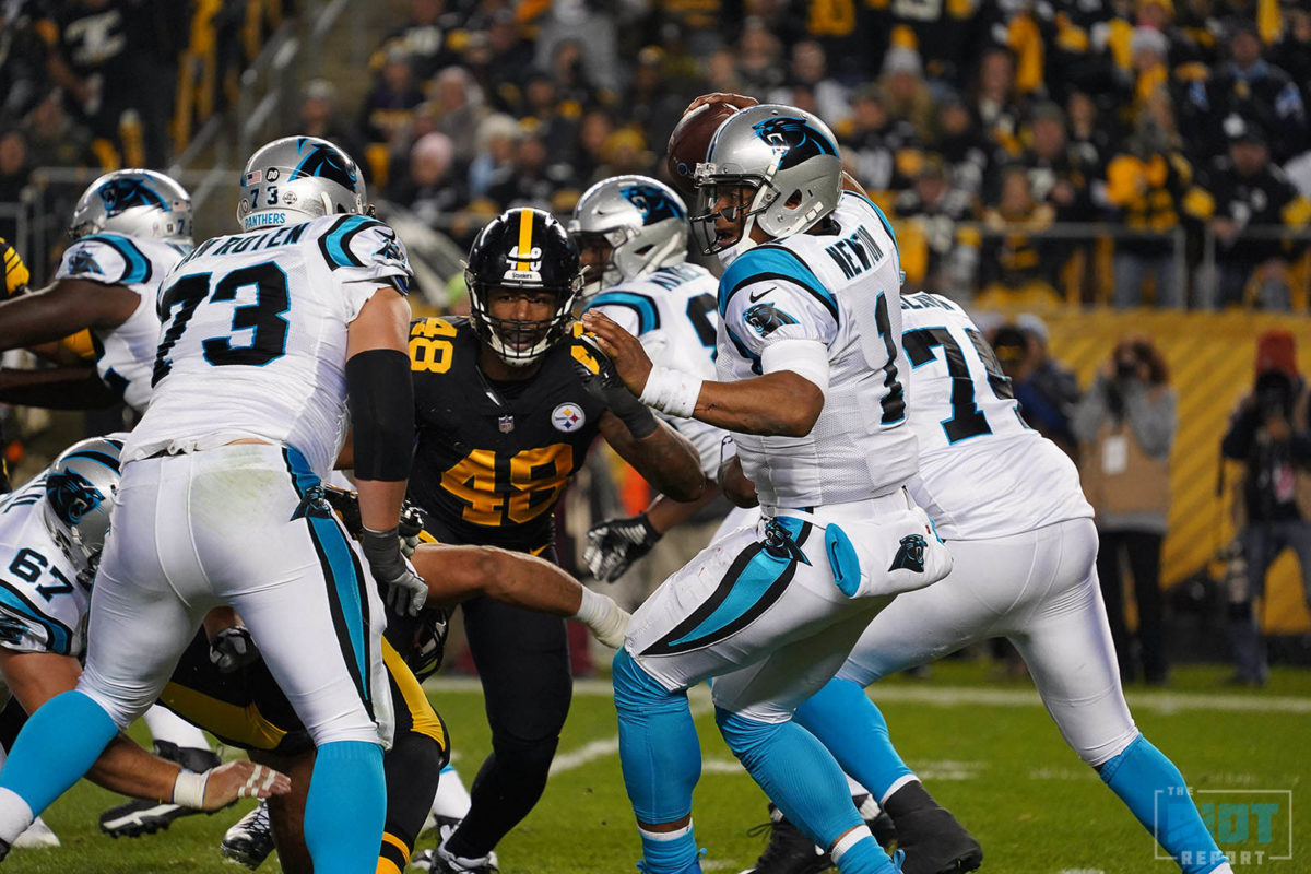 Why The Steelers Were Able To Sack Cam Newton Five Times