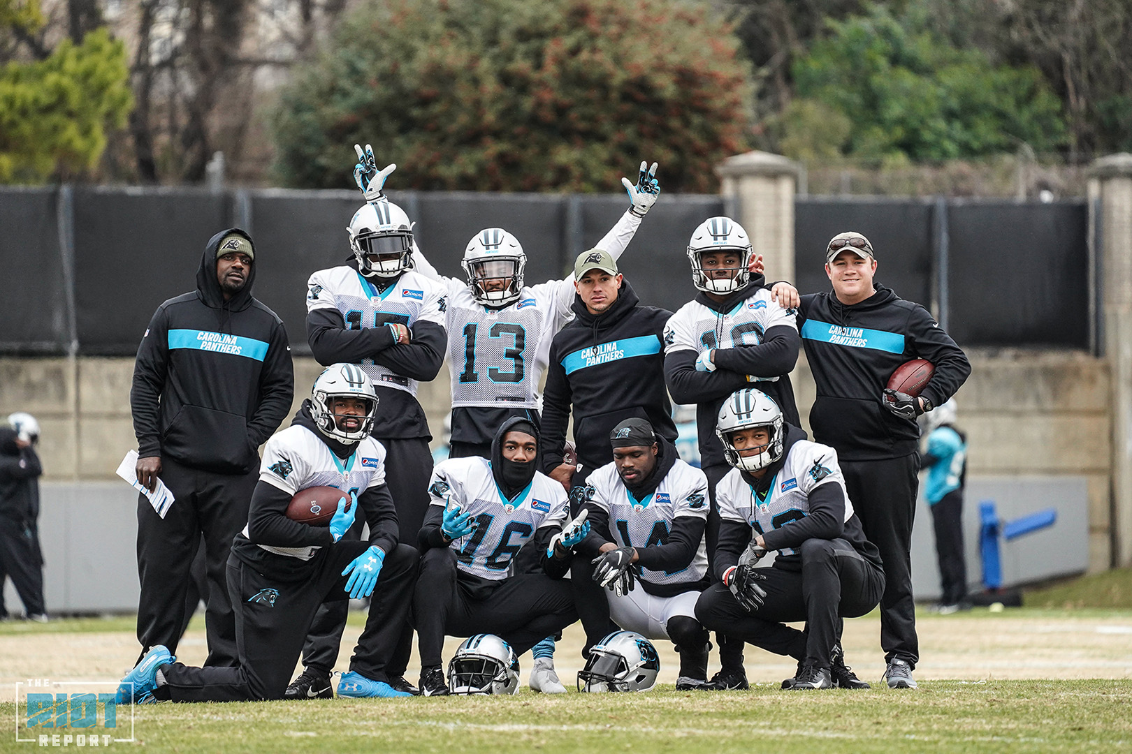 Photo Gallery: Carolina Panthers Practice – December, 27 2018