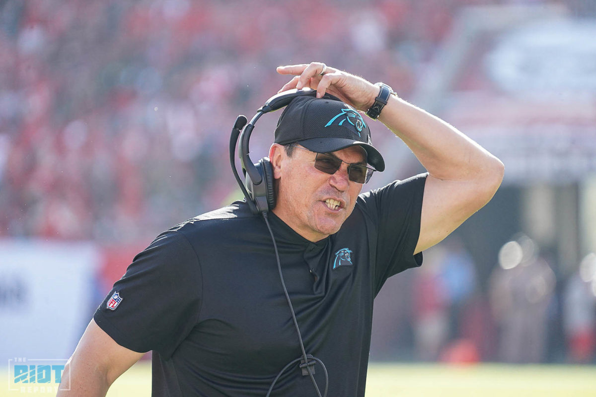 Questions Swirl Around Panthers Coaching Staff