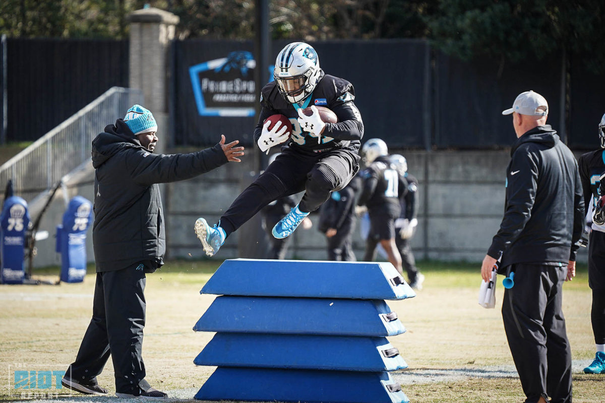 Photo Gallery: Carolina Panthers Practice – December 5, 2018