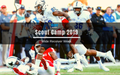 Scout Camp 2019: Wide Receiver Big Board