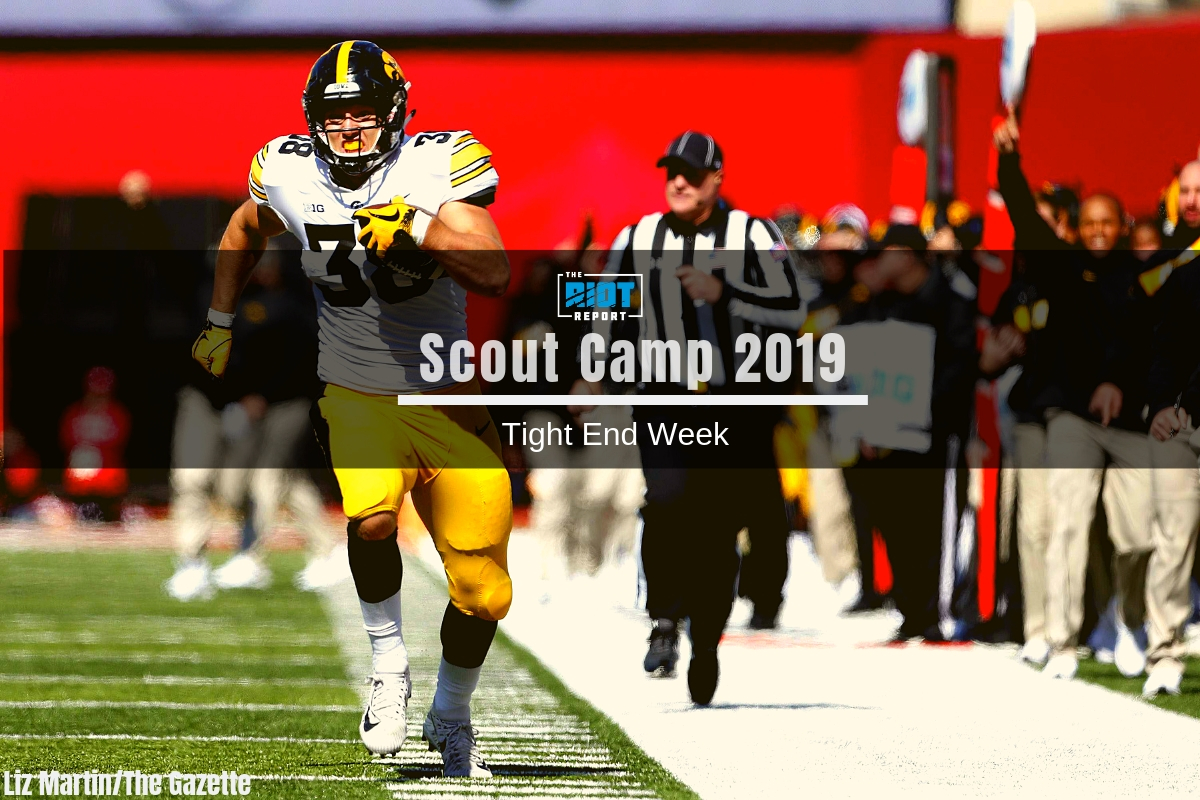 Scout Camp 2019 Film Breakdown: TJ Hockenson