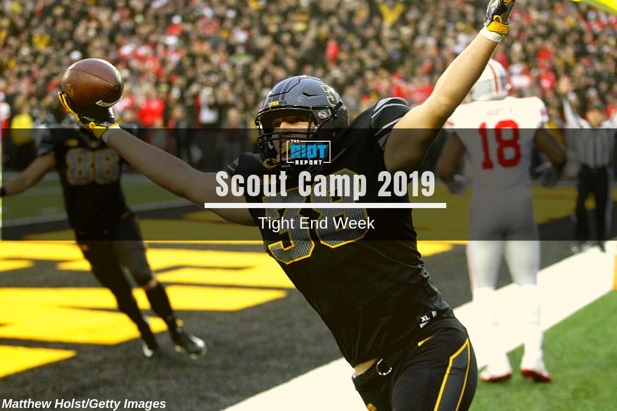 Scout Camp 2019: TE Big Board