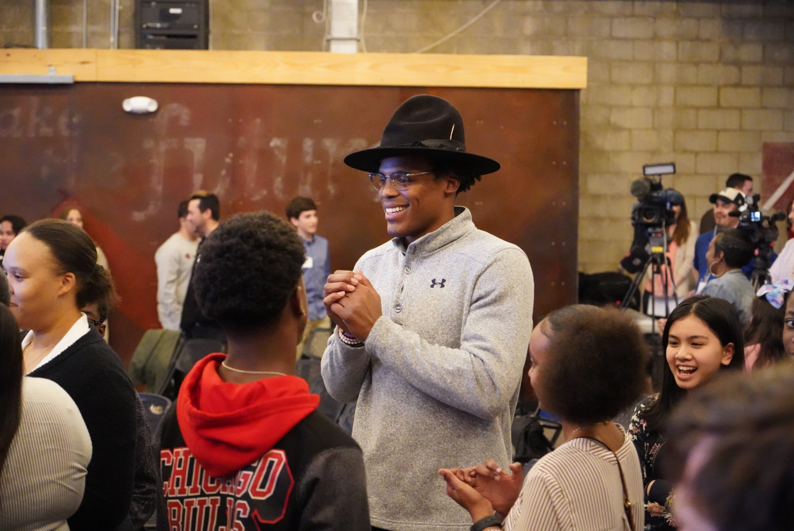 Cam Newton Continues To Show Kids It's OK To Be Different
