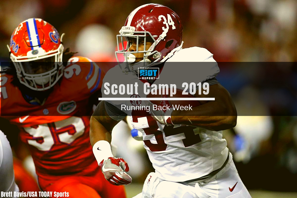 Scout Cap 2019 Film Breakdown Damien Harris The Riot Report