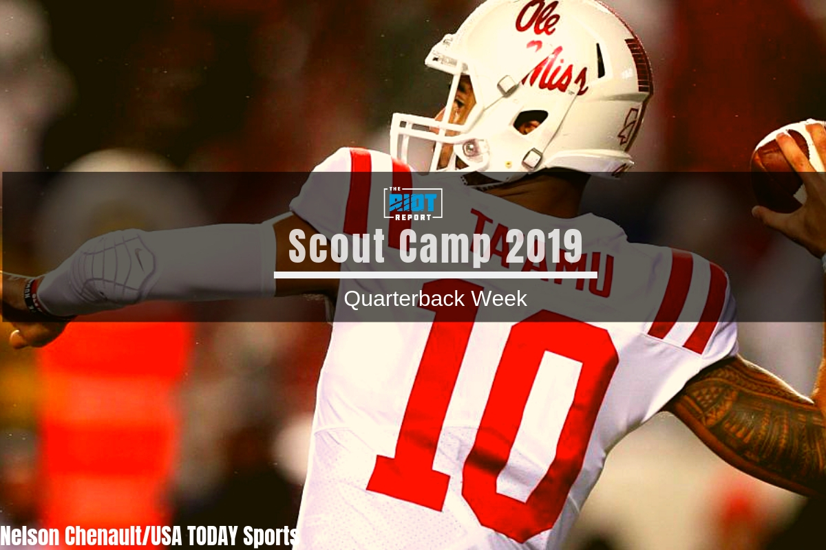 Scout Camp 2019 Film Breakdown: Jordan Ta'amu