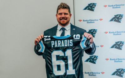 """Matt Paradis Excited To Be Leader In Carolina, """"Ahead Of Schedule"""" in Recovery"""