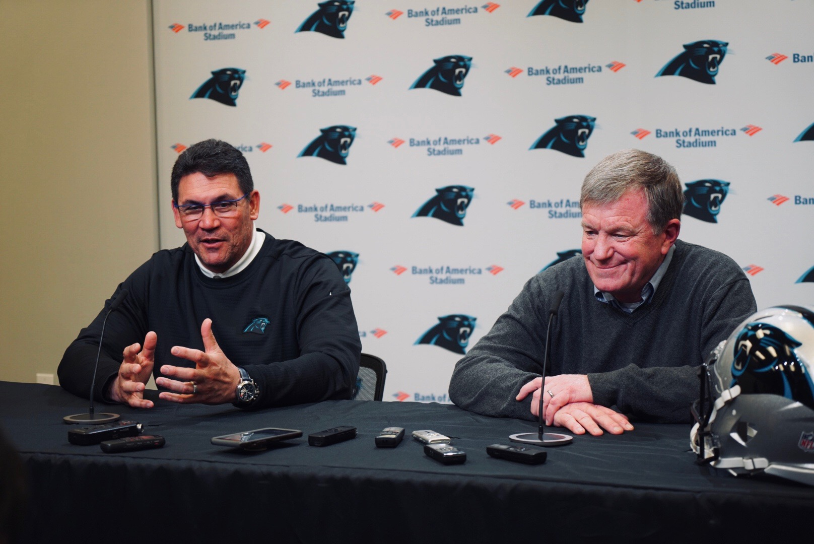 How Marty Hurney and Ron Rivera Plan To Fill The Panthers Needs