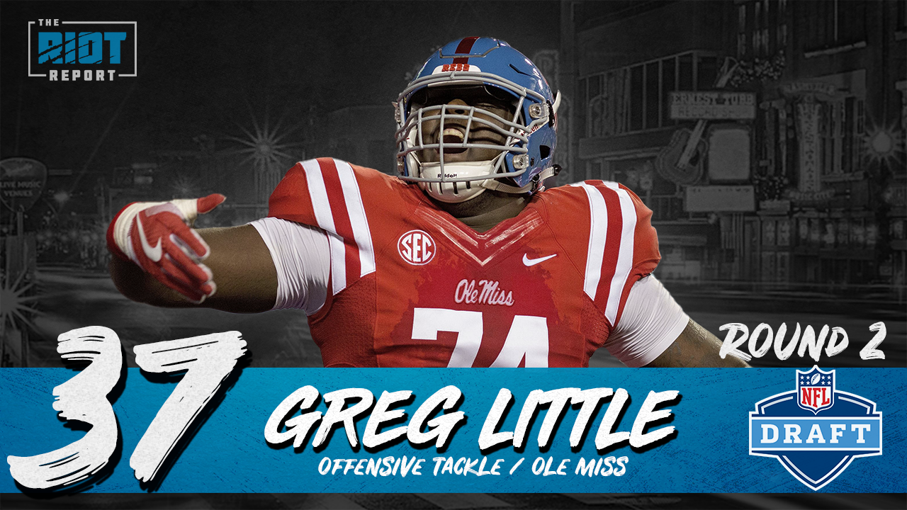 """Panthers Trade Up For """"True Franchise Left Tackle"""""""