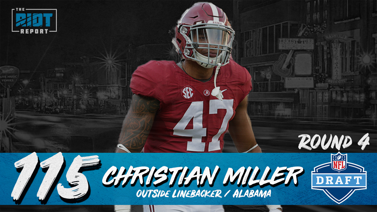 Panthers Double Down On Edge Rusher In Fourth Round