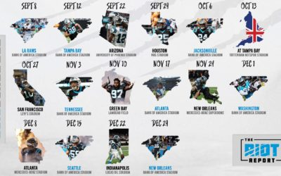 Panthers 2019 Schedule Is Set