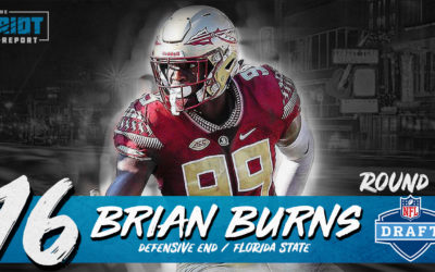 Panthers Drafting Brian Burns Seemed Meant To Be