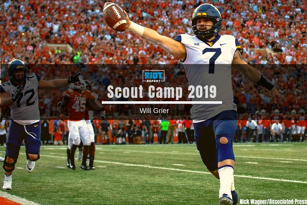 Scout Camp 2019 Film Breakdown: Will Grier