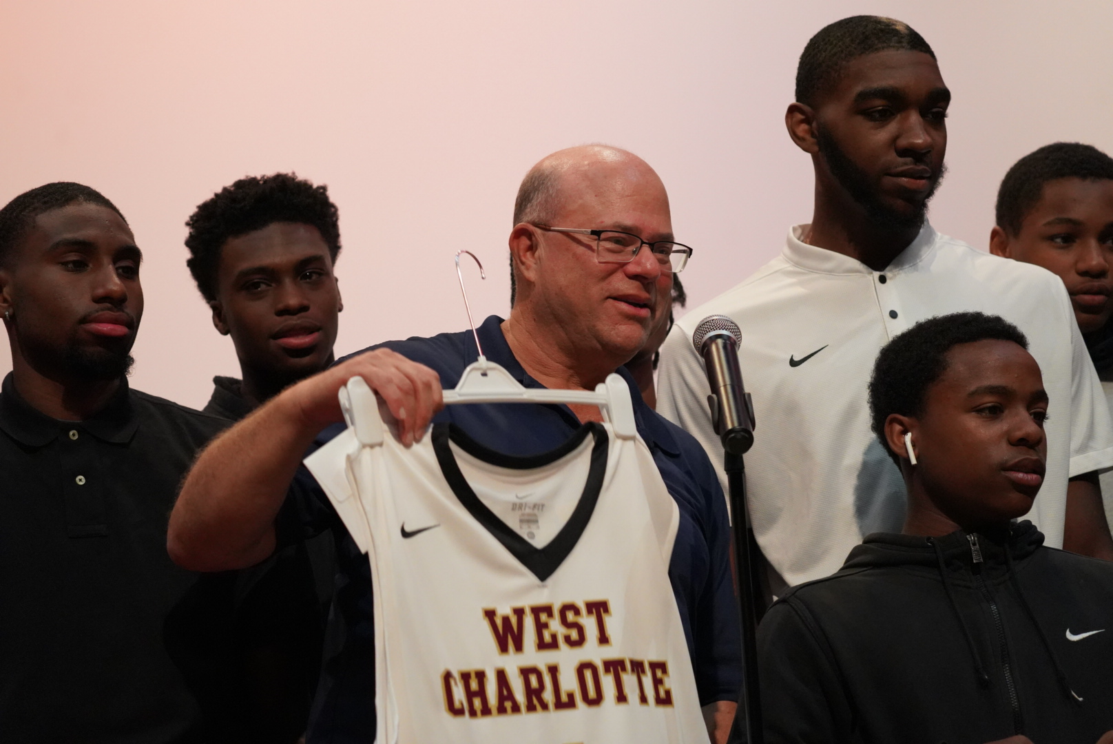 David Tepper Honored at Charlotte High School After Donation