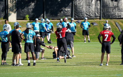 """Cam Newton Throws At Minicamp – """"New Mechanics"""" Began In 2018"""