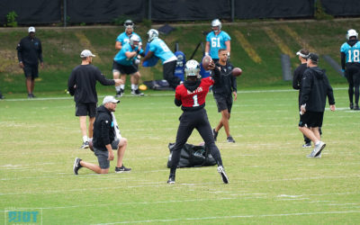 """Analysis: Cam Newton's """"New"""" Mechanics Aren't Everything, But They Are Something"""