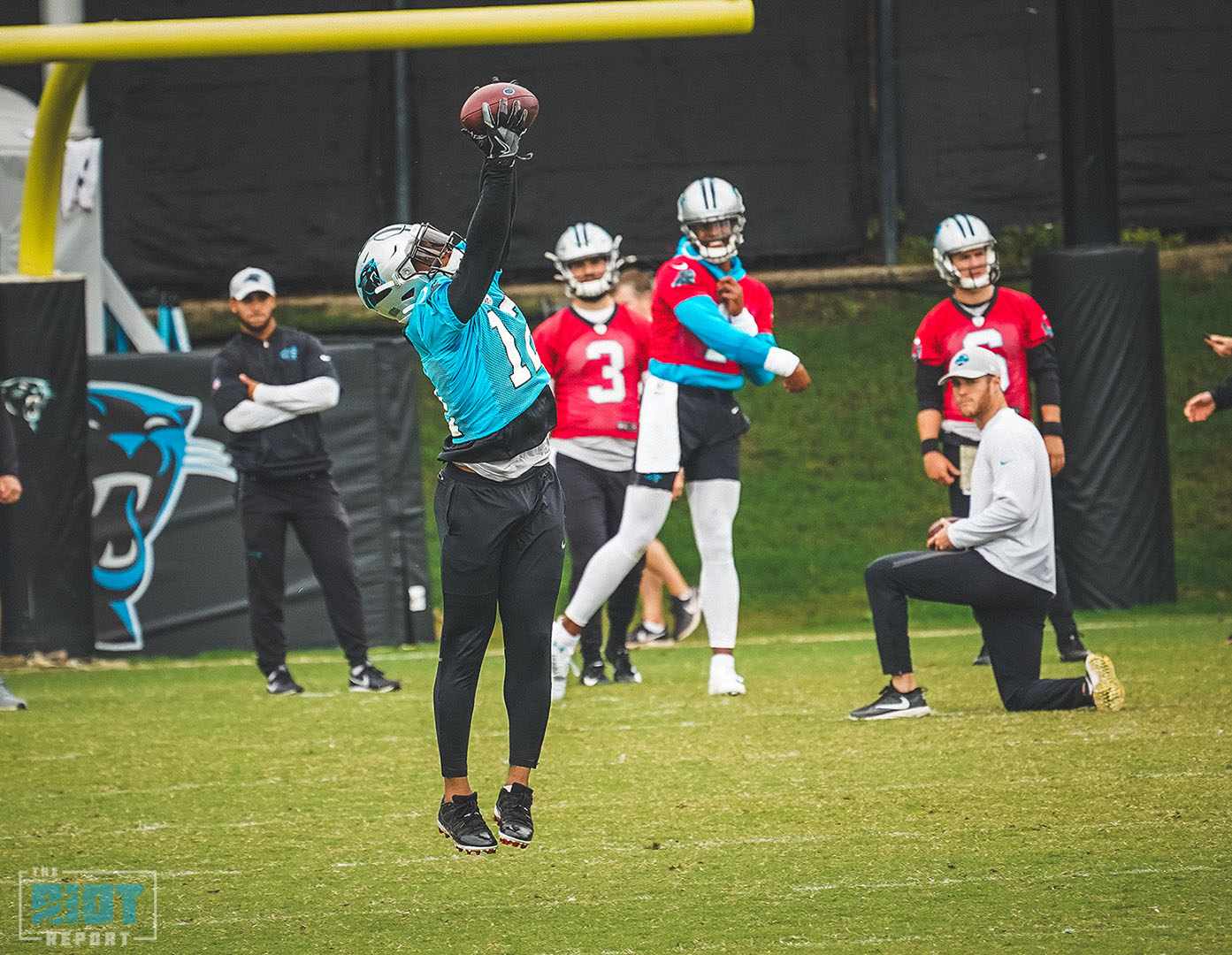Dispatches From Panthers Minicamp Session 3