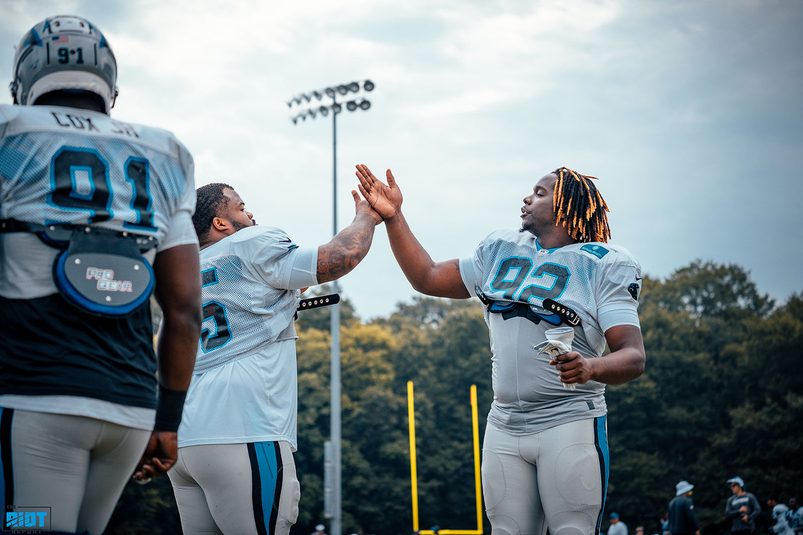 Photo Gallery: Panthers Training Camp Practice, Day Six