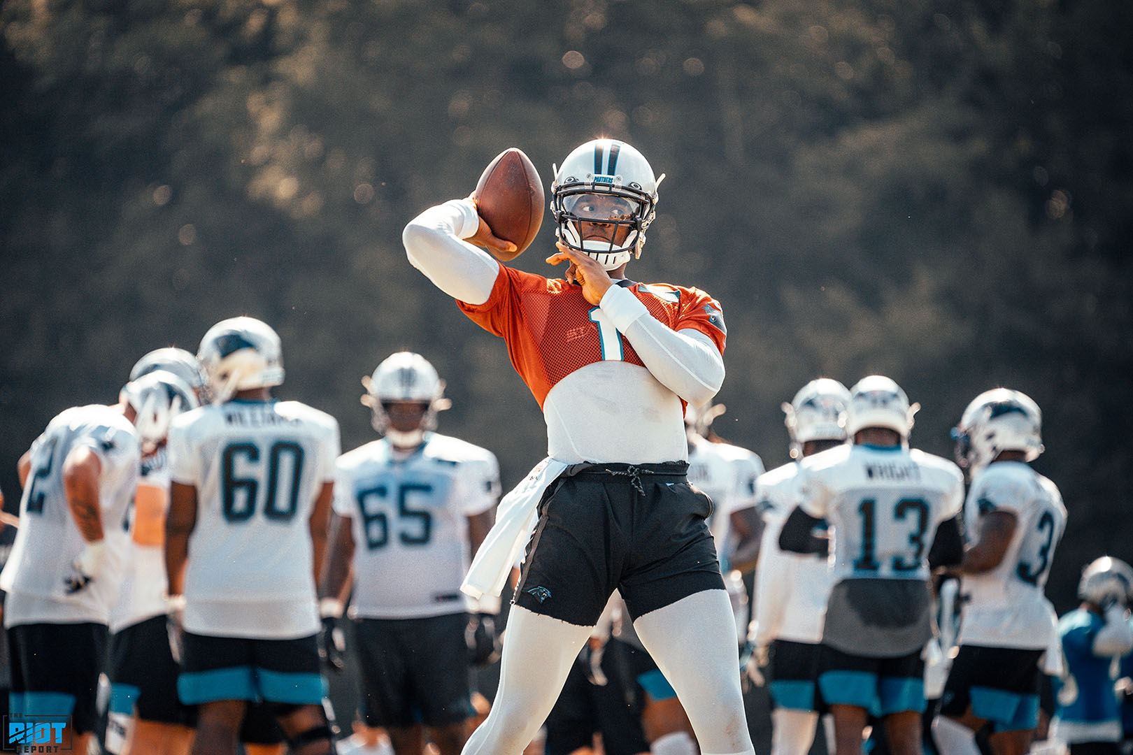 Photo Gallery: Panthers Training Camp, Day 11