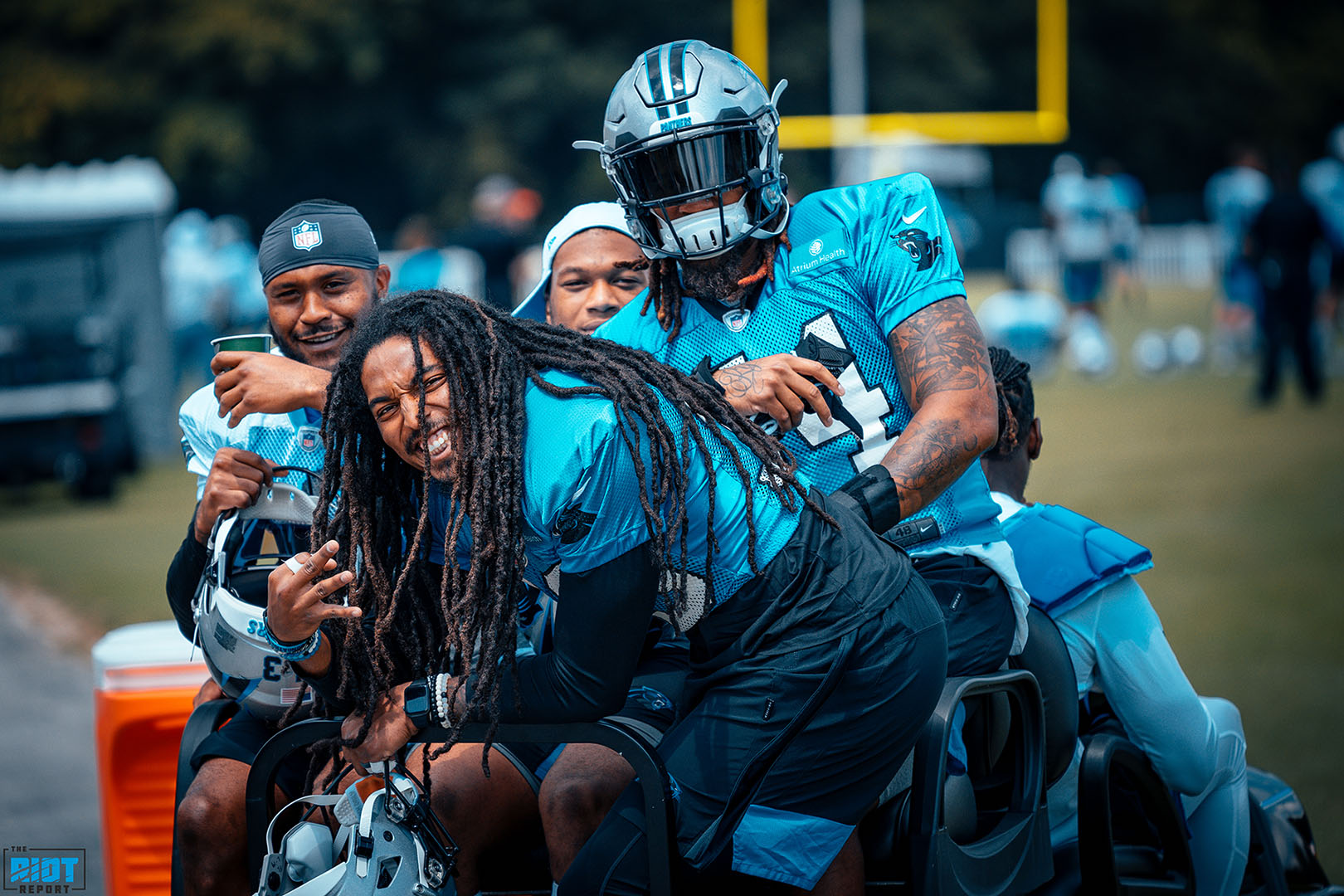 Photo Gallery: Panthers Training Camp, Day 12