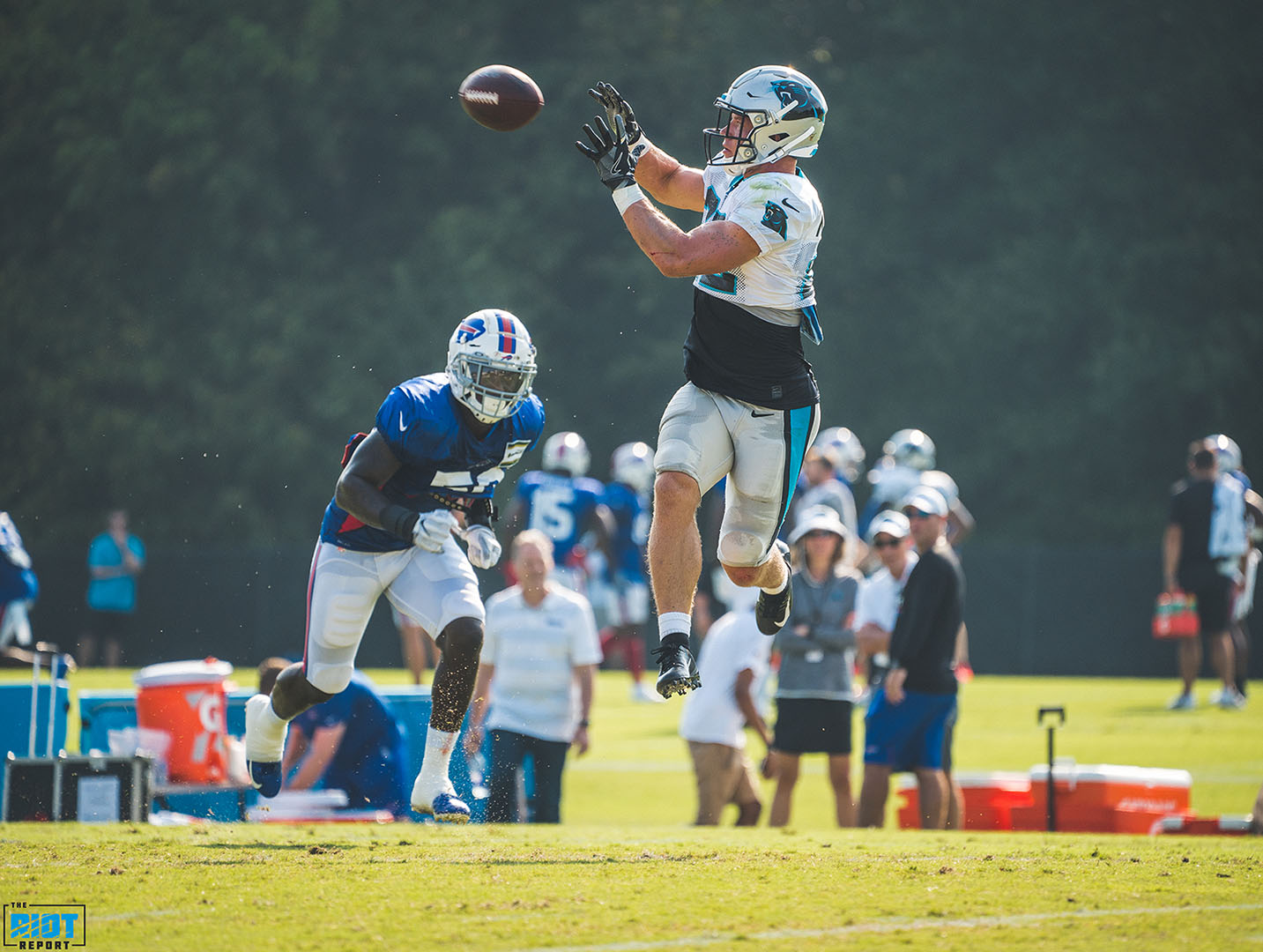 Photo Gallery: Panthers vs Bills Training Camp, Day 14
