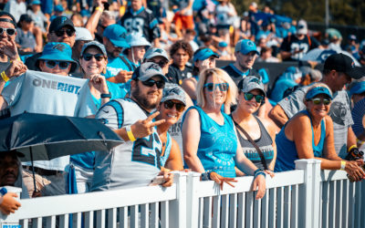 Panthers Partner With Roaring Riot For VIP Training Camp Experience