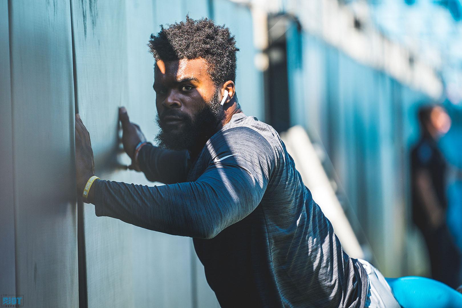 Carolina Panthers claim for Eskimos receiver Brandon Zylstra