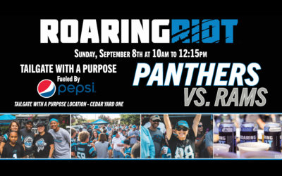 Pepsi Partners With The Roaring Riot To Fuel Tailgate With A Purpose