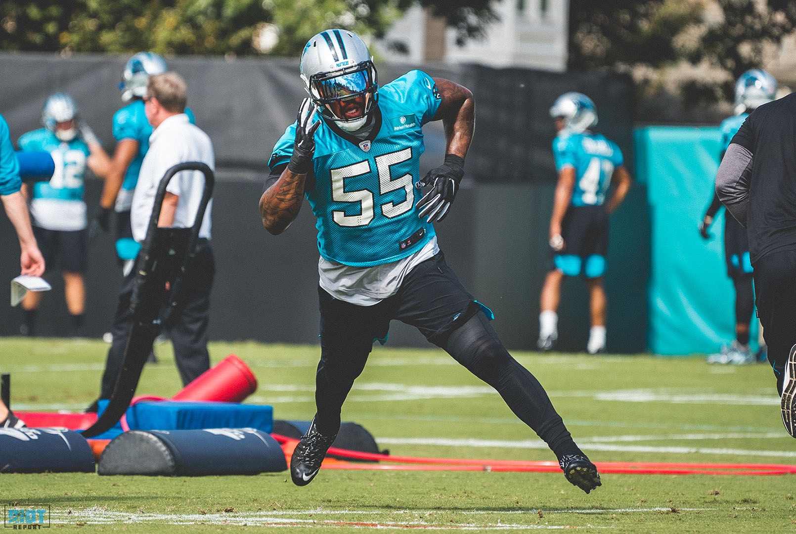 Photo Gallery: Panthers Practice | September 26, 2019