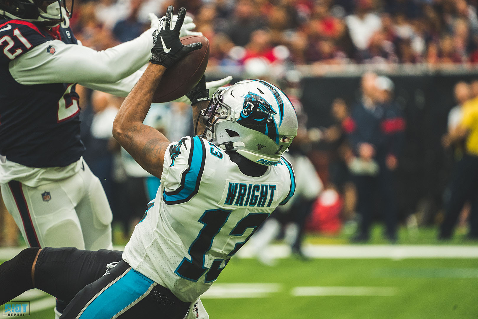 Wright Place, Wright Time: Panthers WR Always Where He's Supposed To Be