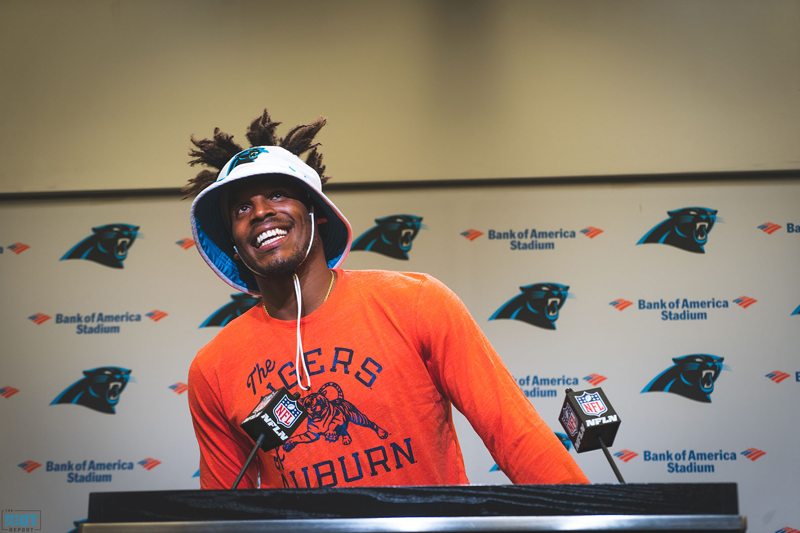 "Cam Newton: ""I Feel Like A Rookie Again."""