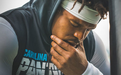 Cam Newton's Misses Practice –  Status Unclear for Sunday