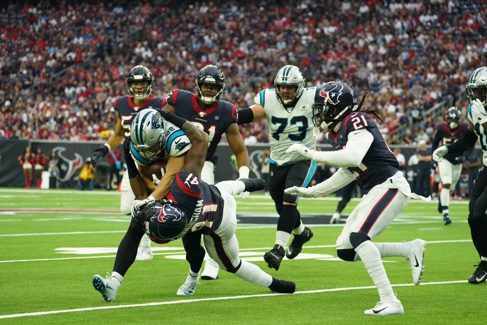 Six Plays That Mattered As The Panthers Beat The Texans