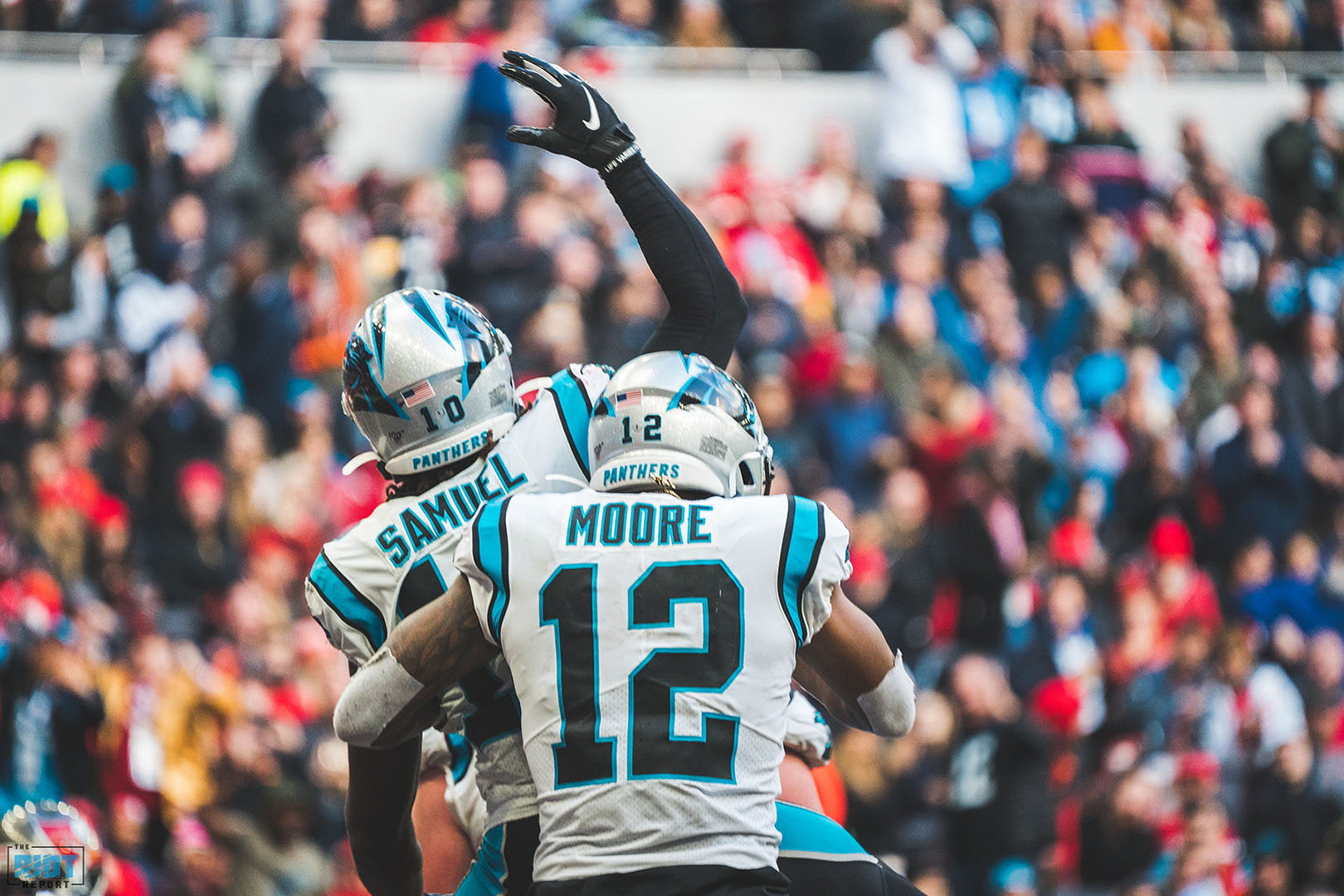 A Closer Look at D.J. Moore and Curtis Samuel's Performances in Week 10