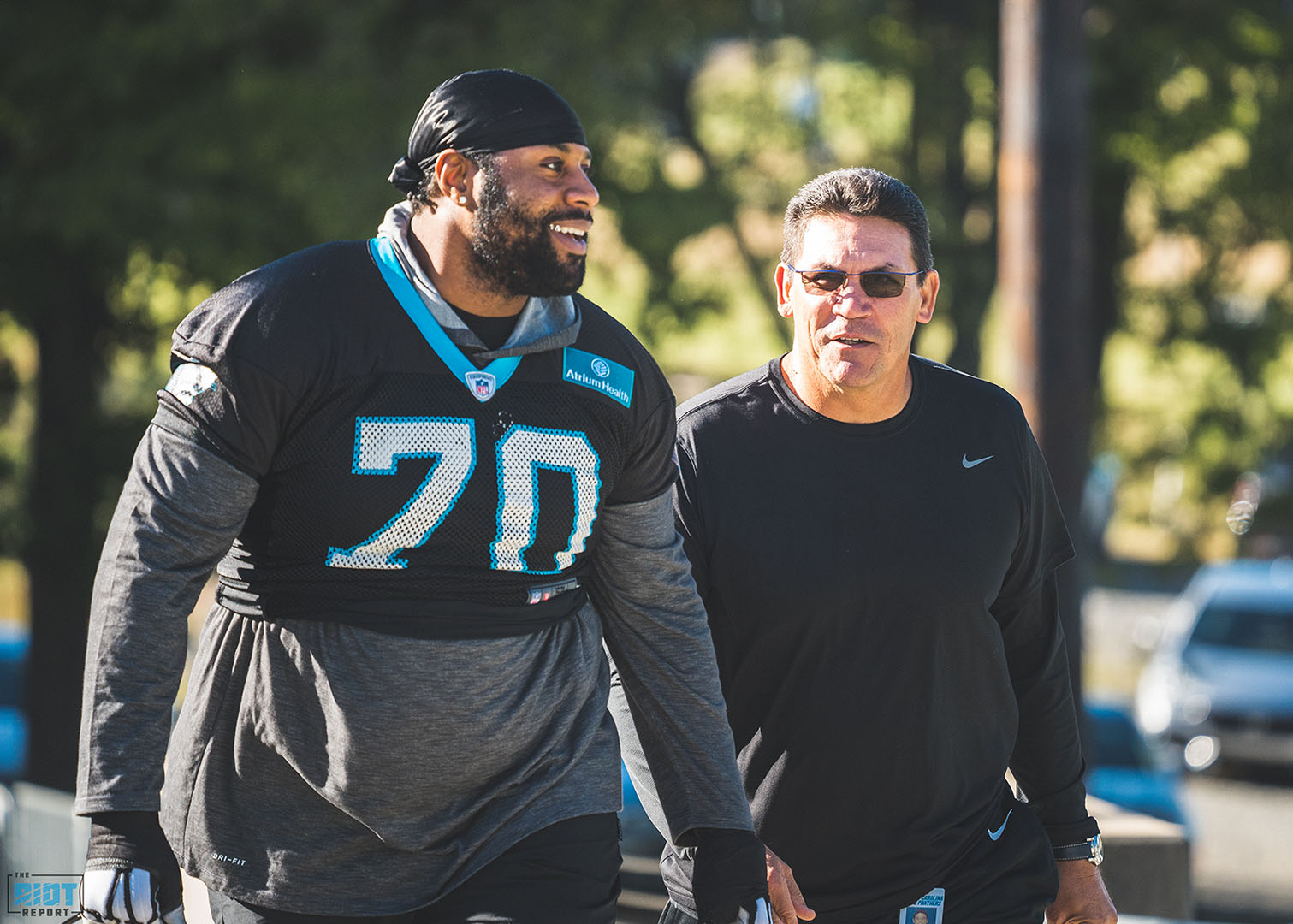 Panthers React To Rivera's Firing
