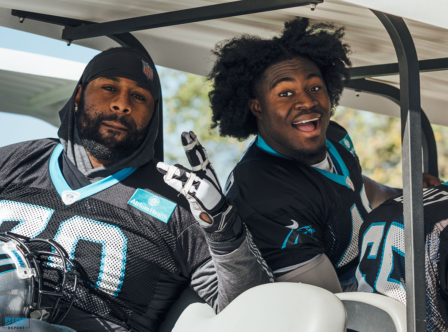 Photo Gallery: Panthers Practice | October 24, 2019