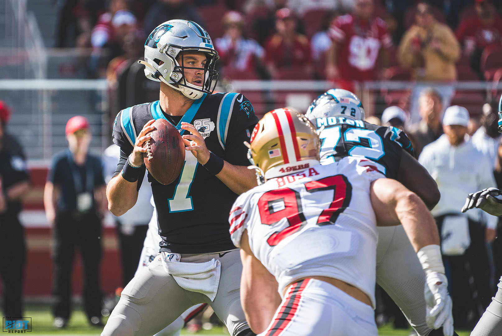 Kyle Allen Will Start Sunday As Cam Newton Continues Rehab