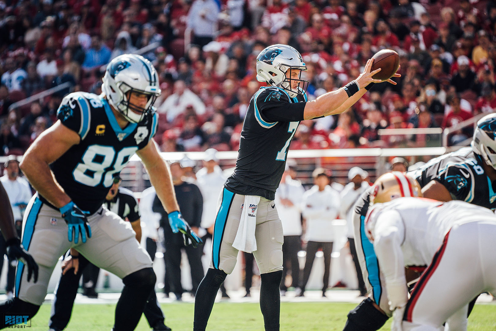 How Greg Olsen Stood Up And Refused To Let 2018 Happen Again