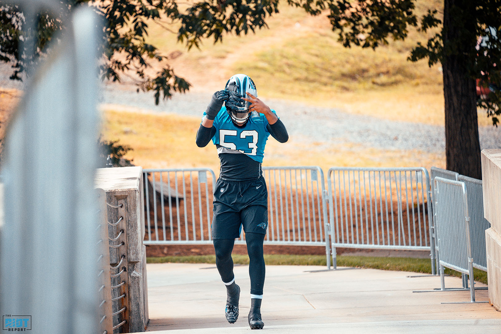 Photo Gallery: Panthers Practice | October 9, 2019