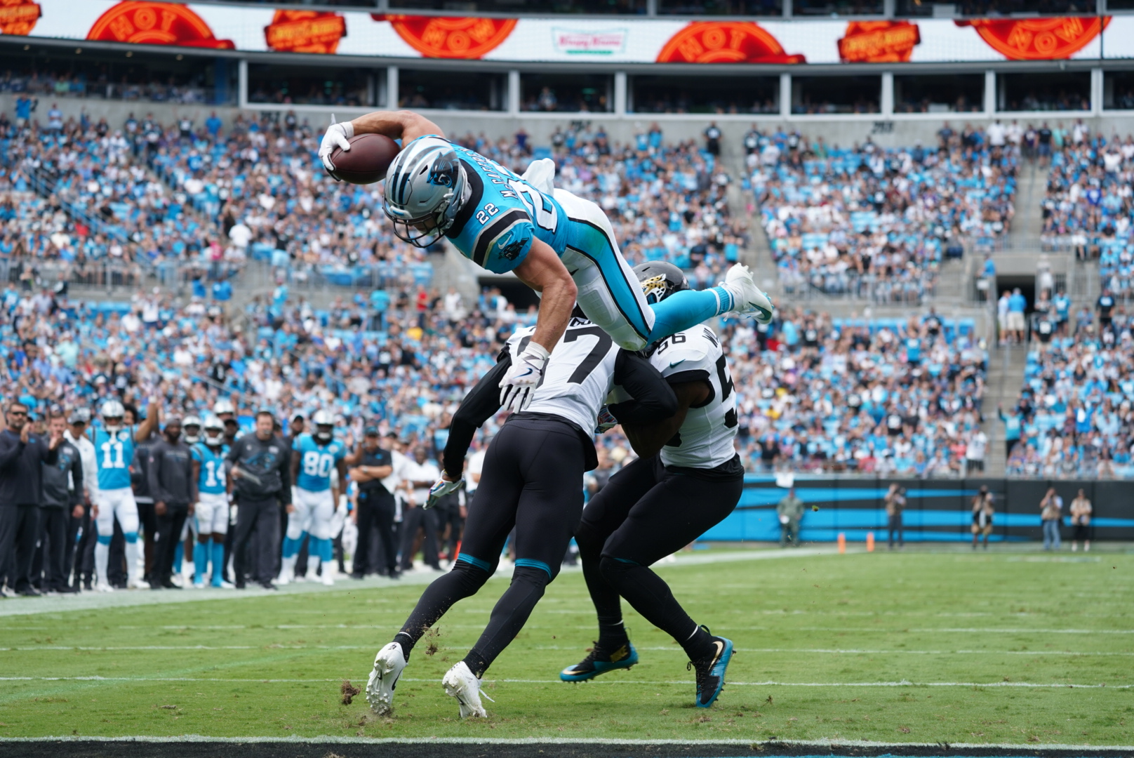 Seven Plays That Mattered As The Panthers Beat The Jaguars