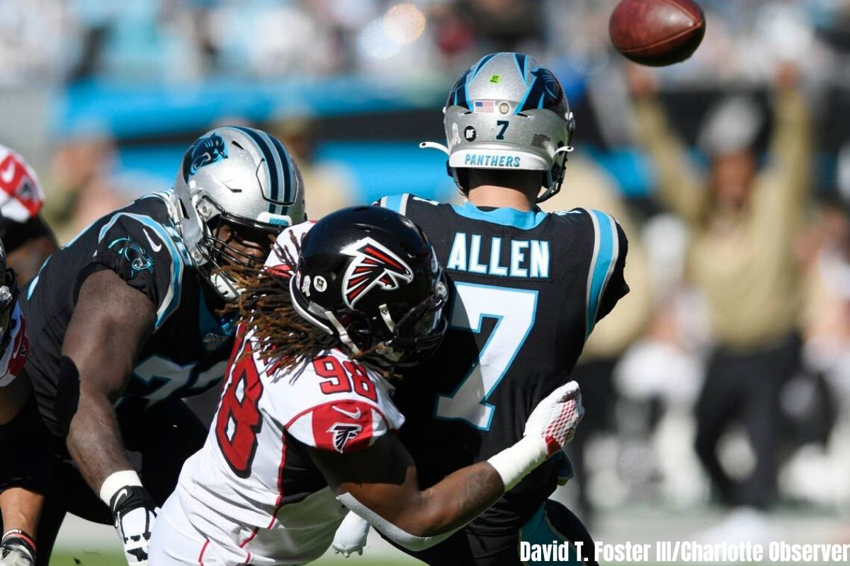Panthers Offensive Line Struggles To Find Cohesiveness