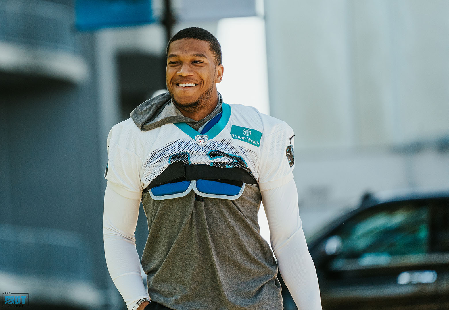 "Wednesday Injury Report: DJ Moore Leaves For ""A Happy Reason"""