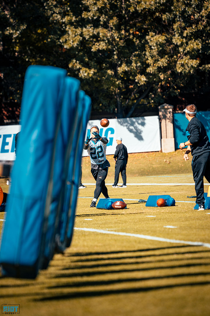 Panthers Wednesday Injury Report: Christian McCaffrey Sits Out