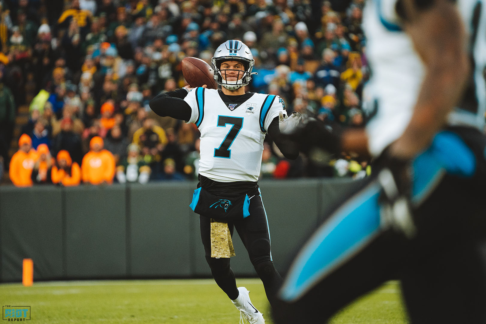Kyle Allen's Not Making Excuses For His Growing Pains