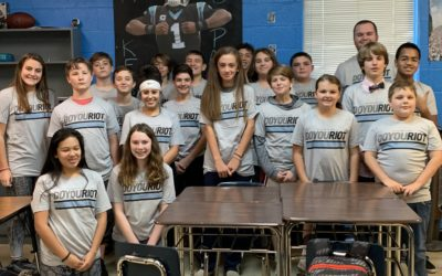 Meet The Latest Chapter of the Roaring Riot: Erwin Middle School