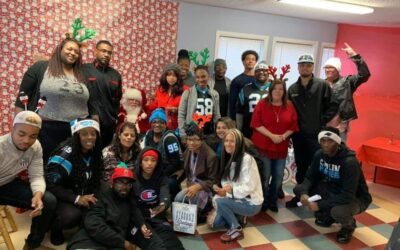 Upstate Riot Helps Thomas Davis To Donate Toys This Christmas