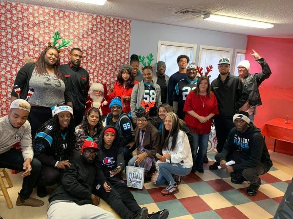 Upstate Riot Helps Thomas Davis To Donate Toys This Christmas