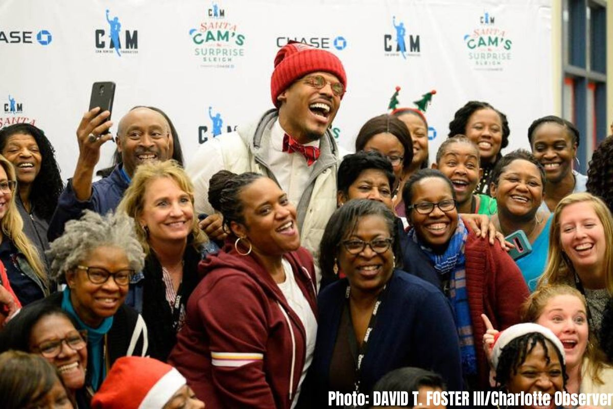 Cam Newton's Impact Off The Field Continues