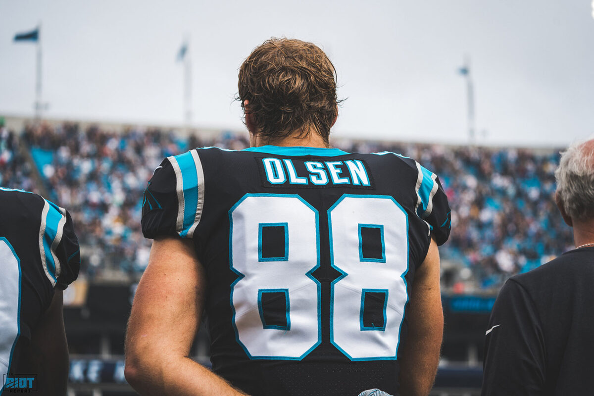Greg Olsen to visit Bills, Redskins